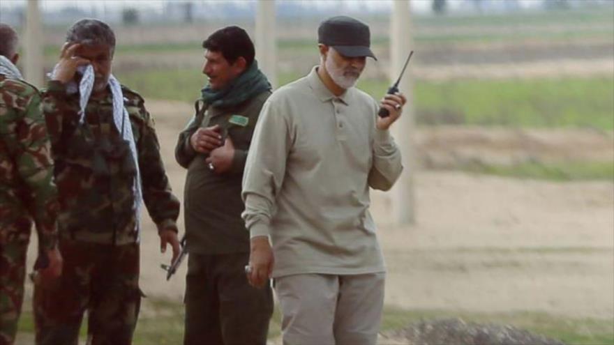 El teniente general Qasem Soleimani, el comandante de la Fuerza Quds, del Cuerpo de Guardianes de la Revolución Islámica (CGRI) de Irán.