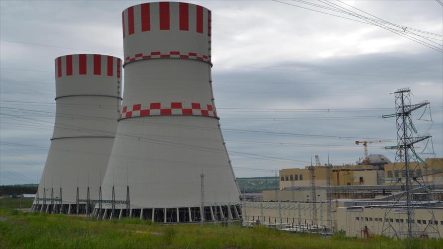 La planta nuclear de Rostov de Rusia.