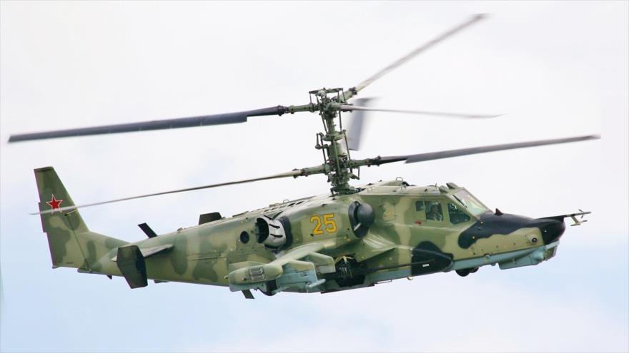 Vídeo: Helicóptero ruso sobrevuela base militar de EEUU en Siria   HISPANTV