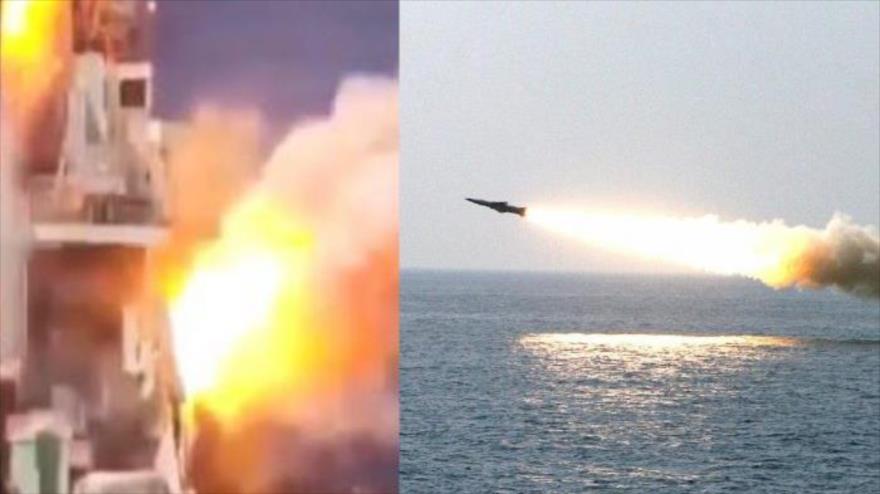 Vídeo: Un misil supersónico de China impacta contra un buque real | HISPANTV