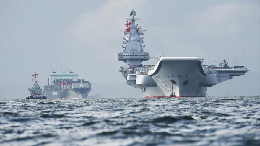 Armada china advierte a un navío de EEUU cerca de la isla de Taiwán | HISPANTV