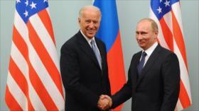 Rusia: Hostilidad de EEUU obstaculiza conversaciones Putin-Biden