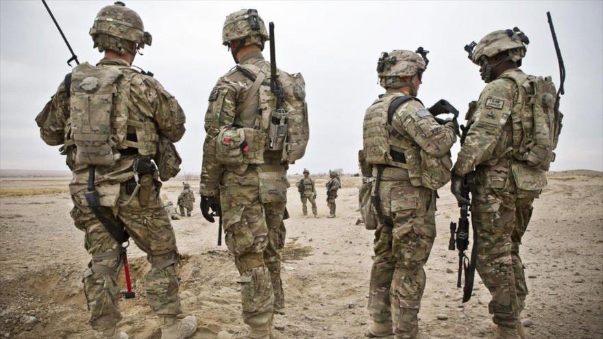 Las tropas estadounidenses desplegadas en la región de Asia Occidental.