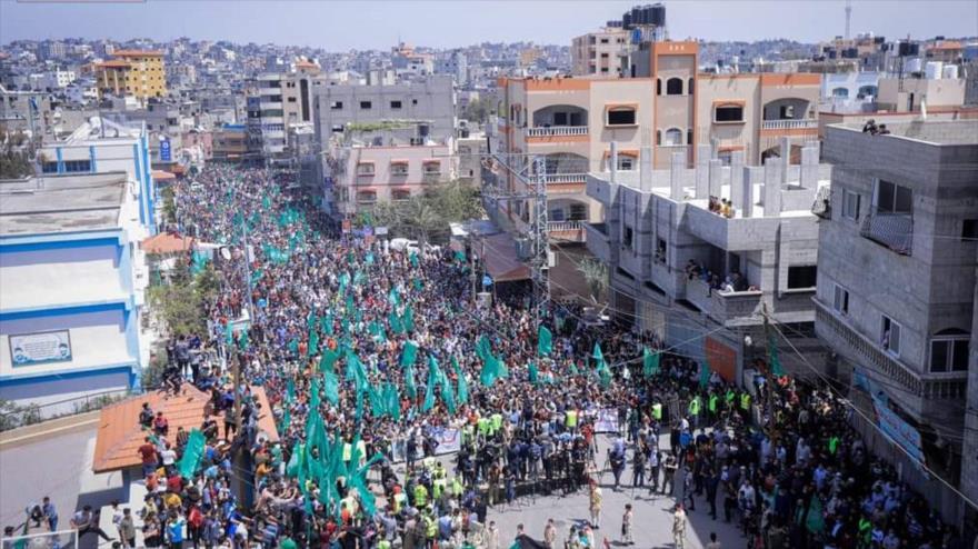 Vídeo: Palestinos expresan su apoyo a Al-Quds y Mezquita Al-Aqsa | HISPANTV