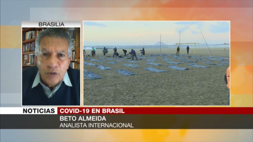 Almeida: Brasil, en situación de calamidad por acciones de Bolsonaro