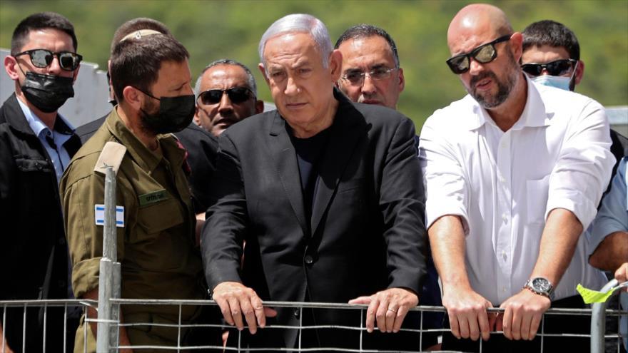 Israelíes abuchean a Netanyahu en el lugar de la estampida