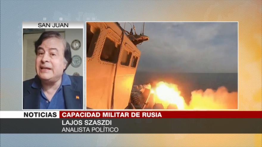 Szaszdi: Rusia muestra músculo a la OTAN con misil antibuque Vulkán