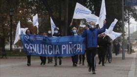 Huelga General Sanitaria toma las calles de Chile
