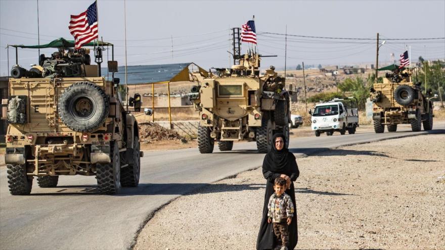 Fuerzas de EE.UU. desplegadas en el norte de Siria, 31 de octubre de 2019. (Foto: AFP)