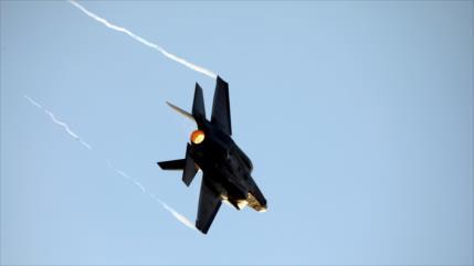 Siria abrió fuego por primera vez contra un F-35 agresor israelí