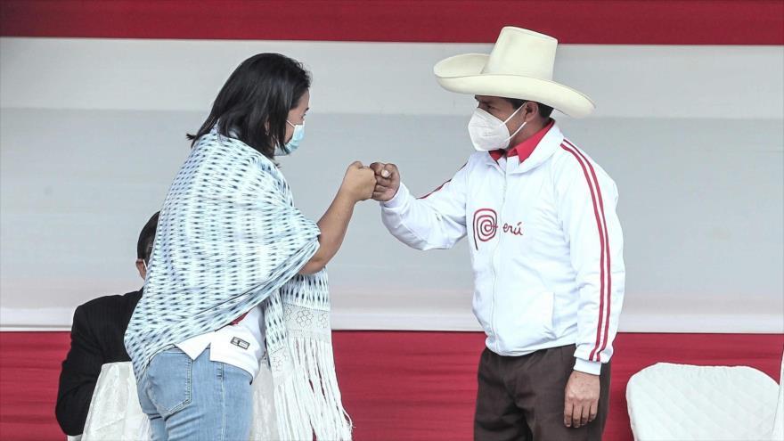 Perú Decide: ¿Cómo avanzó el primer duelo Castillo vs. Fujimori?   HISPANTV