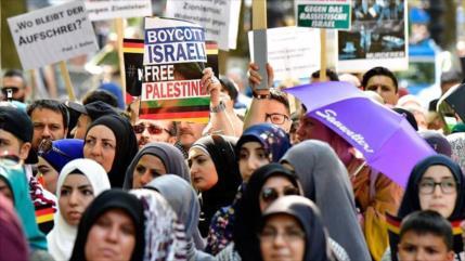 Medida antipalestina: Berlín prohibe la marcha del Día de Al-Quds