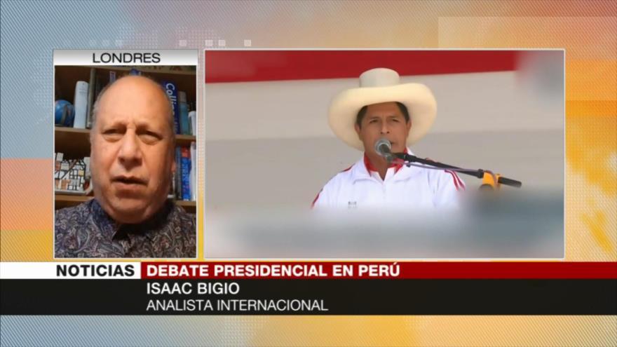 'Fujimori tiene más anticuerpo que Castillo para perder comicios' | HISPANTV