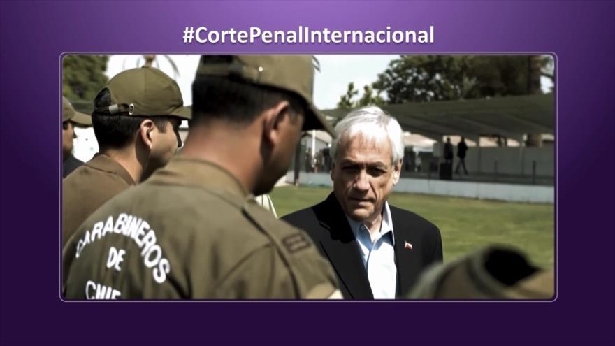 Etiquetaje: Denuncia contra Piñera por crímenes de lesa humanidad