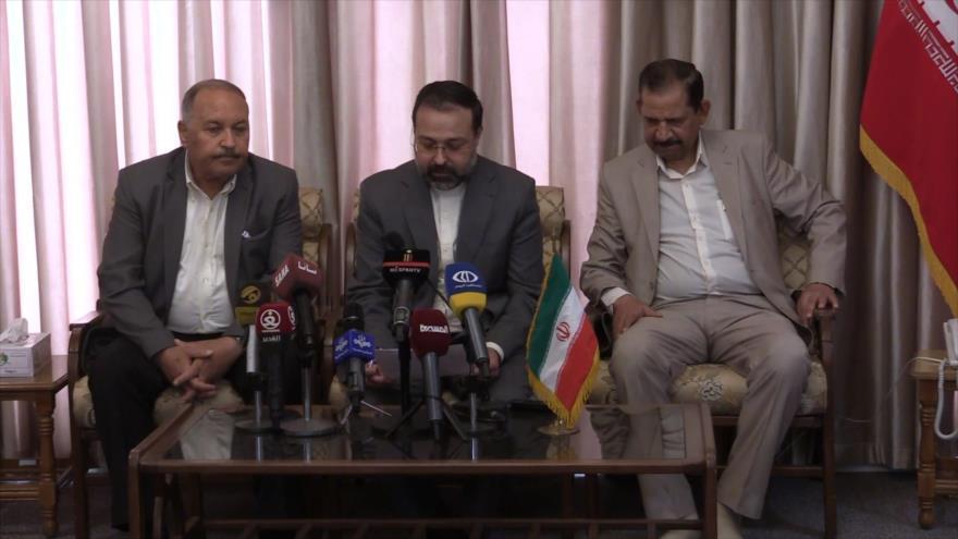 Irán envía ayuda humanitaria para refugiados palestinos en Siria