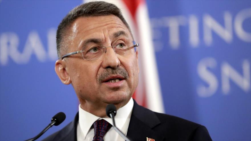 El vicepresidente de Turquía, Fuat Oktay.