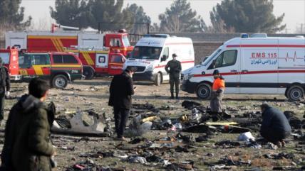 Irán niega orden de sobreseimiento a culpables de avión derribado