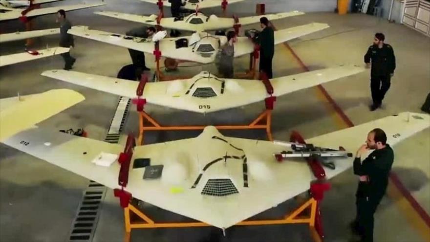 Aviones no tripulados de las Fuerzas Armadas de Irán.