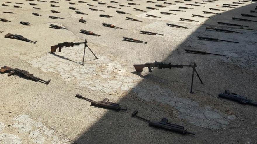 Fotos: Siria incauta armas occidentales dejadas por terroristas | HISPANTV
