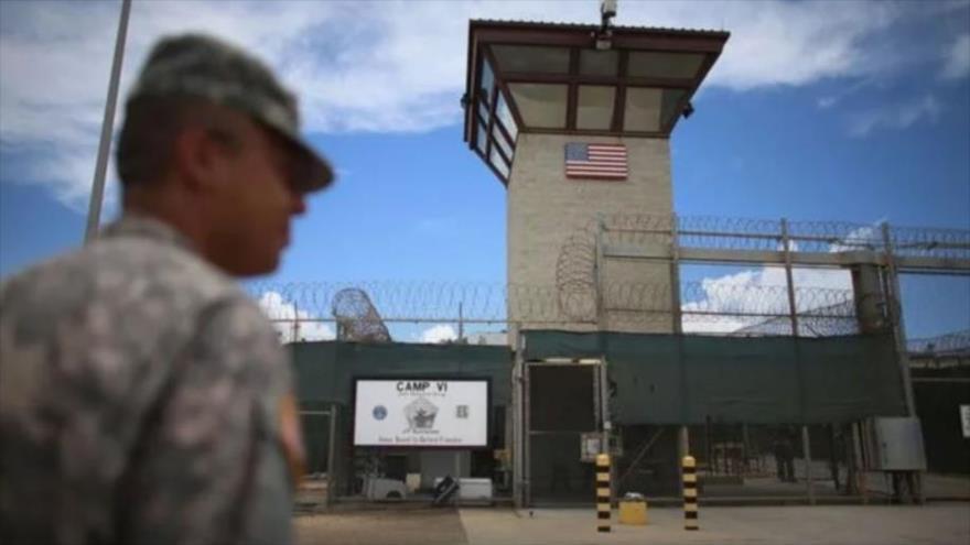La prisión de Estados Unidos en la bahía de Guantánamo, Cuba.