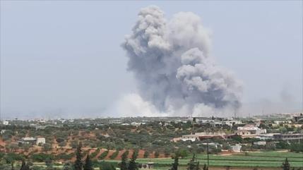 Vídeo: Gran explosión en almacén de armas de extremistas en Siria