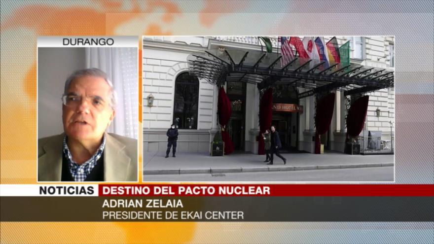 Zelaia: Irán no busca malos acuerdos en Viena porque todo está a su favor