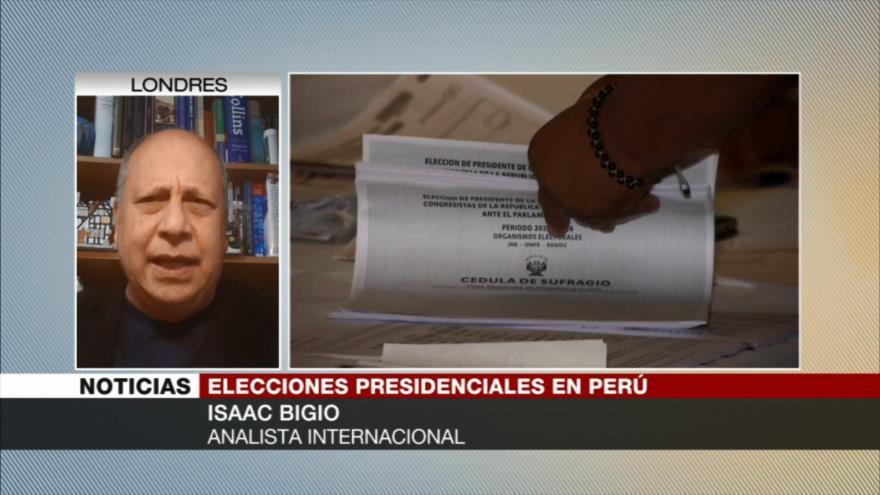 Bigio: Fujimori no gana porque es una de las más corruptas de Perú