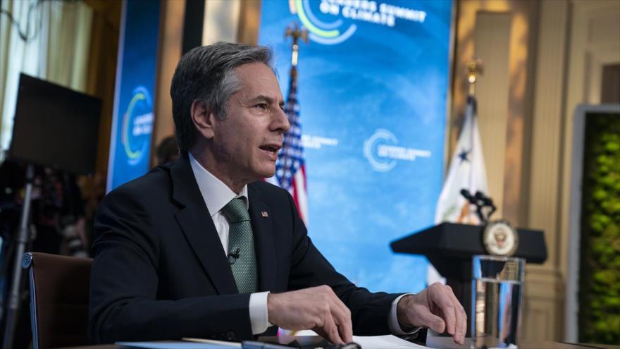 El secretario del Estado de EE.UU., Antony Blinken.