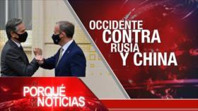 El Porqué de las Noticias: Diálogos nucleares en Viena. Occidente contra Rusia y China. Indignación en Colombia