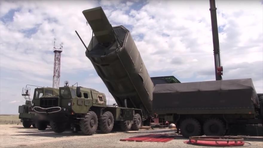 El sistema de misiles hipersónicos Avangard. (Foto: EPA)