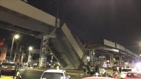 Vídeo: Desplome de un puente del metro deja 20 muertos en México