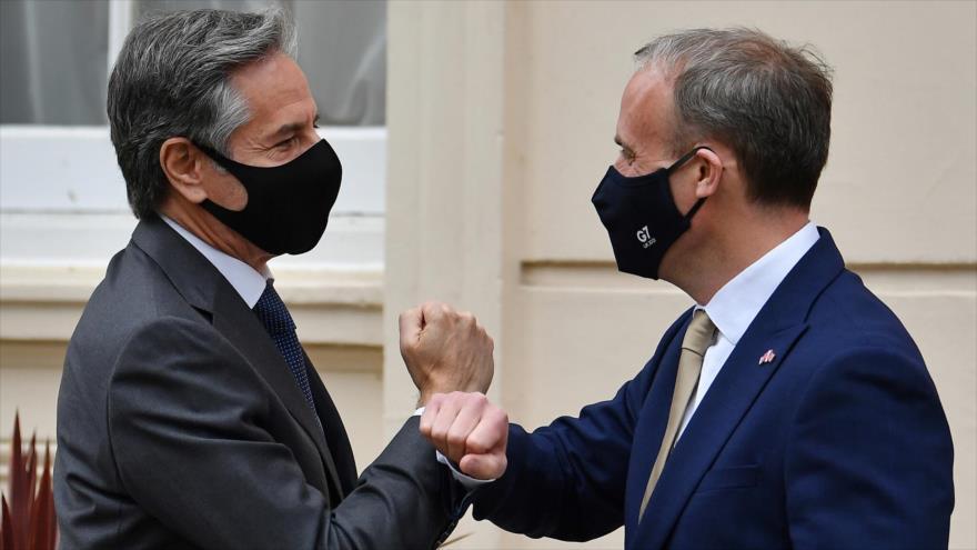 EEUU y El Reino Unido blindan su alianza contra Rusia y China