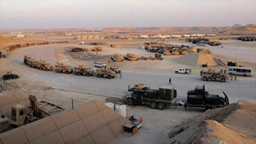 La base militar estadounidense de Ain al-Asad, en la provincia iraquí de Al-Anbar.