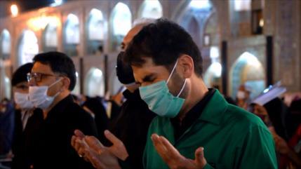 Musulmanes en Irán están de luto por el martirio del Imam Ali (P)