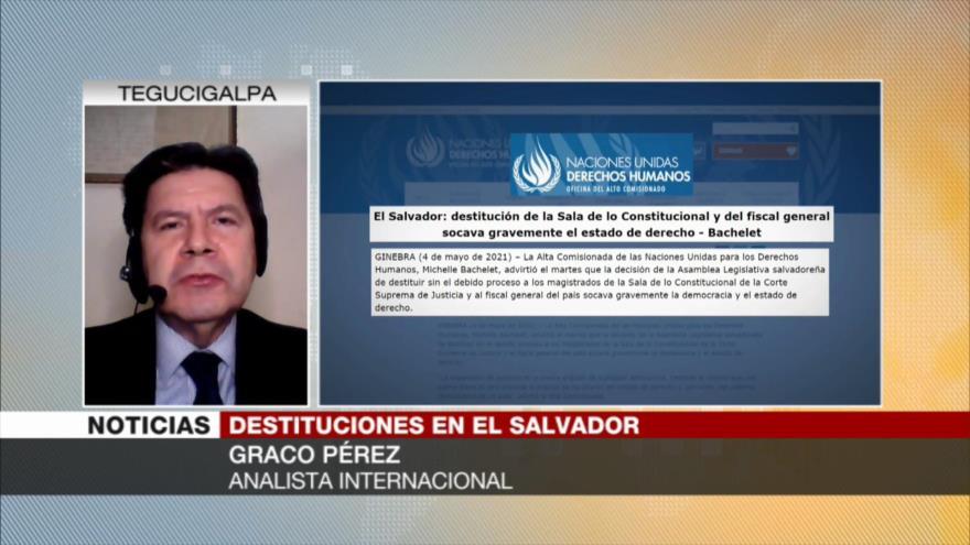 Pérez: Concentración de poder lleva a El Salvador a más pobreza