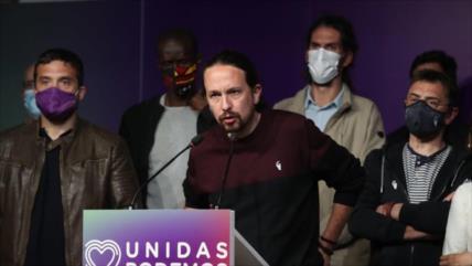 Pablo Iglesias anuncia que deja la política tras derrota en Madrid