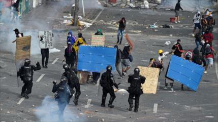 ONU y UE, alarmadas por feroz represión de protestas en Colombia