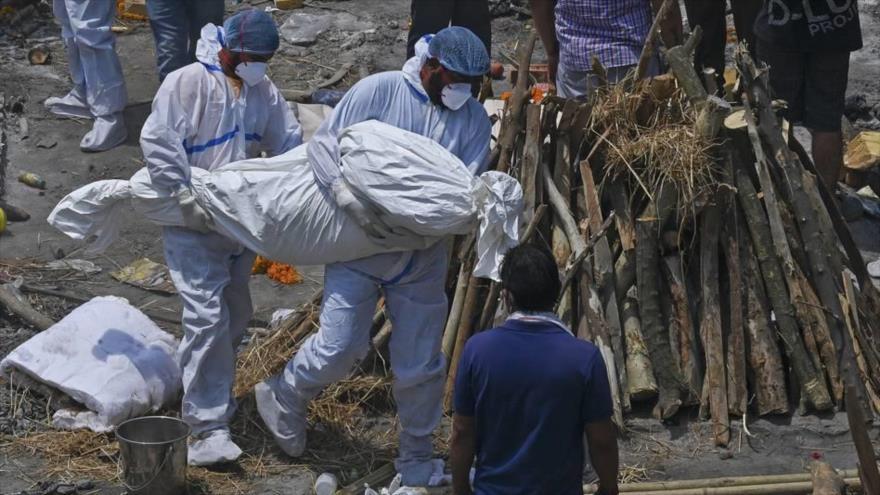 Caos en La India por récord de muertes por coronavirus . (Foto: AFP)