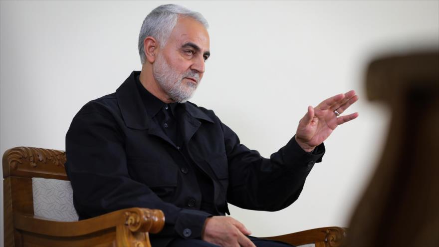 El teniente general Qasem Soleimani