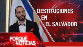 El porqué de las Noticias: El Día de Al-Quds. Protestas en Colombia. Crisis en El Salvador
