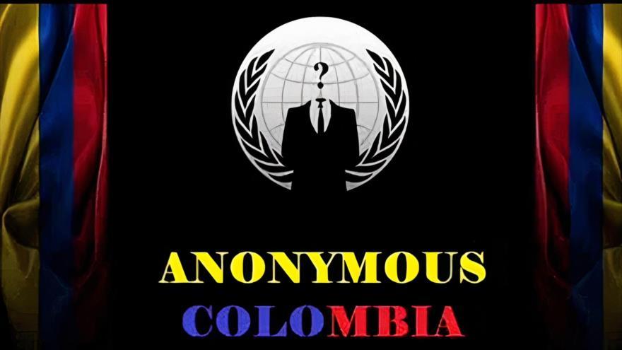 Imagen que sale en la página web del Ejército colombiano, tras el hackeo de Anonymous, 04 de mayo de 2021.