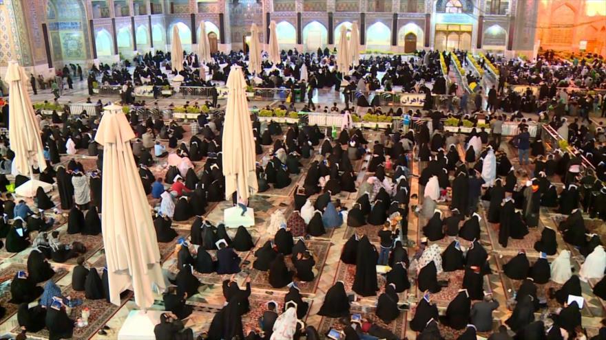 Millones de musulmanes iraníes celebran la Noche del Destino