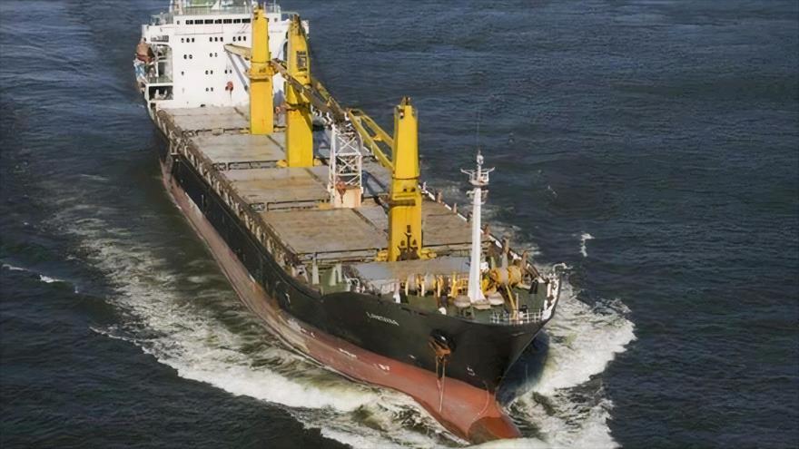 El buque iraní Saviz.
