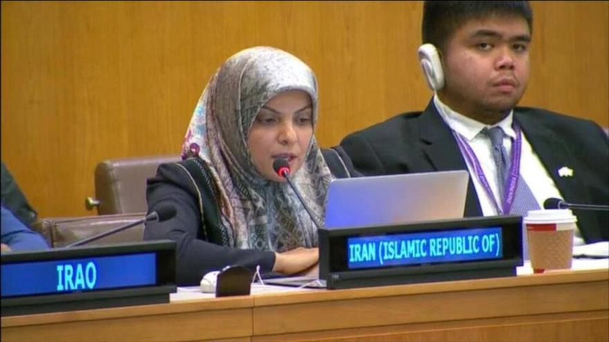 """Irán exige ante la ONU fin de """"sanciones unilaterales e injustas"""""""