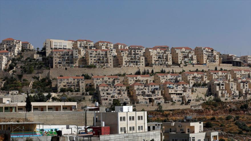 Una vista general del asentamiento ilegal israelí Beitar Illit en la ocupada Cisjordania, 23 de junio de 2019.(Foto: Reuters).