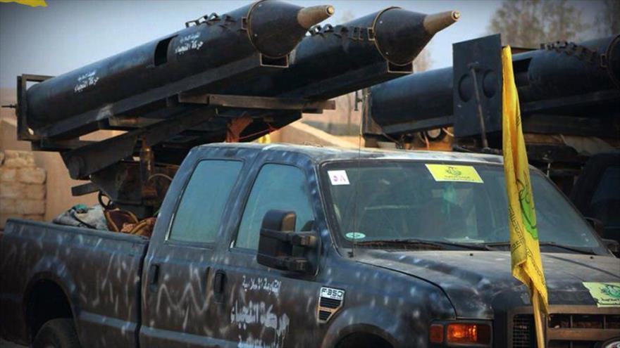 Un tipo de equipamiento militar del Movimiento Hezbolá de Irak al-Nuyaba. (Foto: alnujaba.ir)