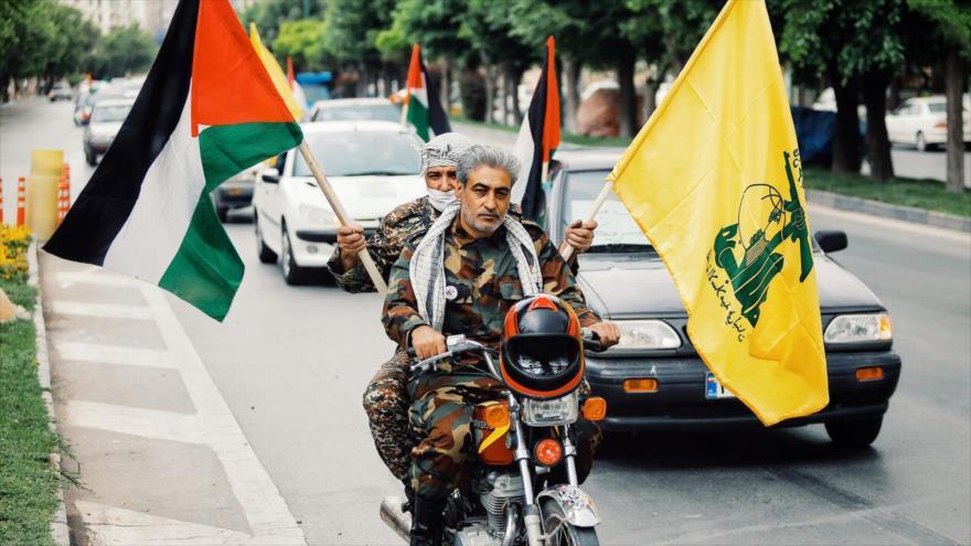 Iraníes celebran Día Mundial de Al-Quds con manifestaciones en coches