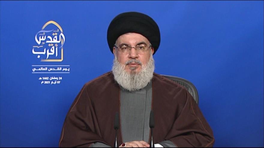 Nasralá dice que se ven signos de debilidad y declive de Israel