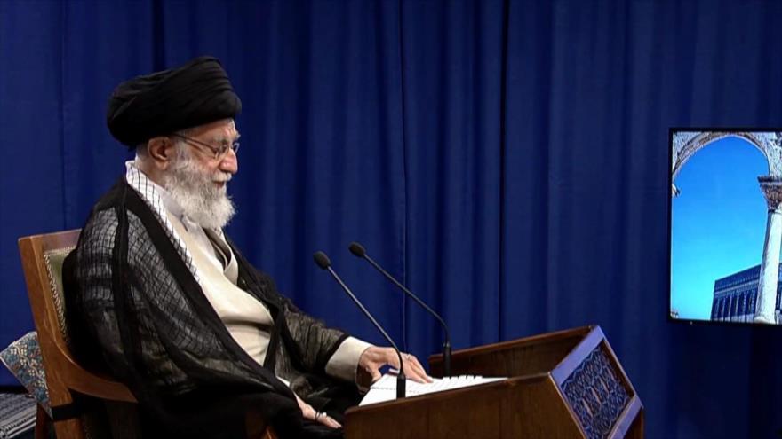 Discurso de Líder de Irán. Día de Al-Quds. Apoyo a Palestina - Noticias Exprés: 19:30 - 07/05/2021