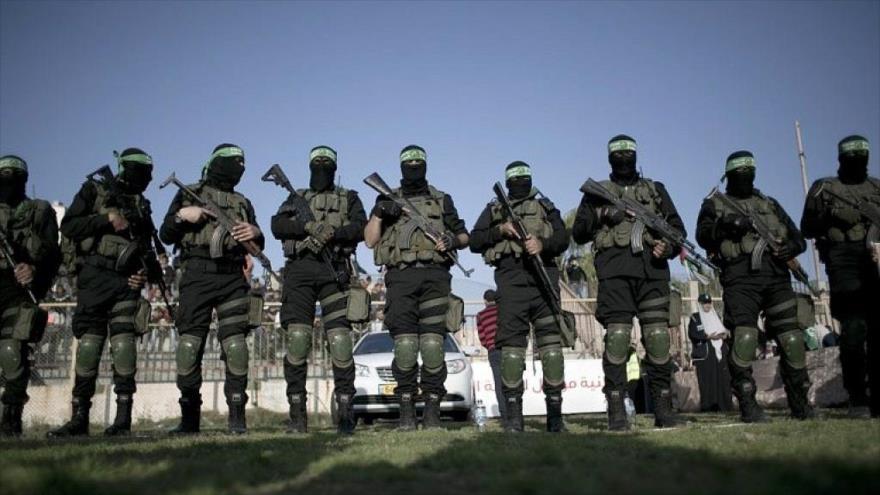 Combatientes de HAMAS en la ciudad de Rafah, en el sur de la Franja de Gaza. (Foto: AFP)